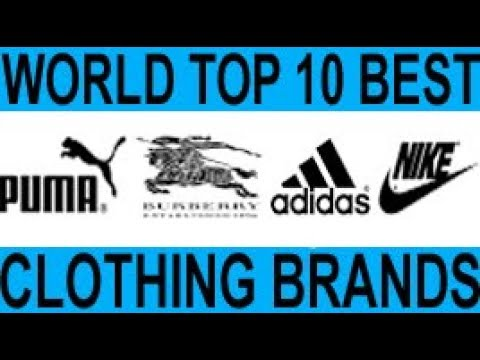 Top ten luxury clothing brands
