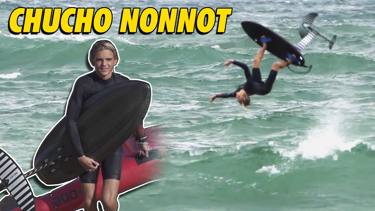 Windsurf, Foil, Surf... Il sait tout faire !