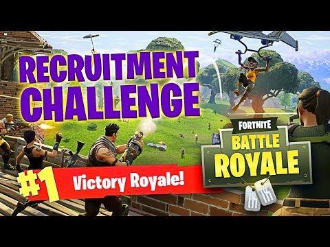 SOAR FORTNITE?! (SoaR Recruitment Challenge?!)
