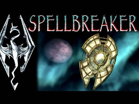 """Skyrim: Daedric Artifacts : Spellbreaker (""""The Only Cure"""" quest)"""