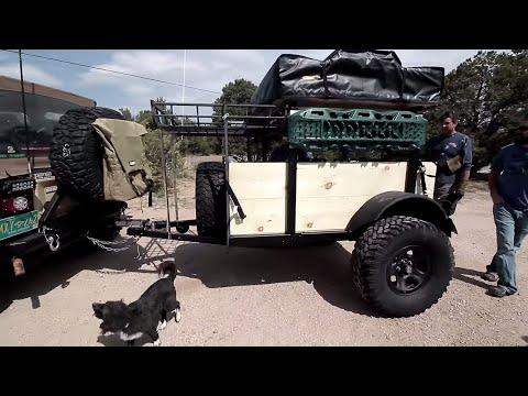 DIY CAMPING/OFF-ROAD JEEP TRAILER!