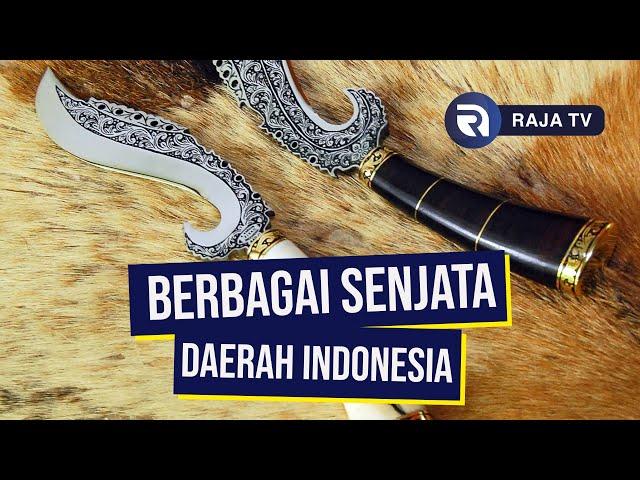 7 Senjata Tradisional Indonesia yang Digunakan untuk Mengalahkan Penjajah