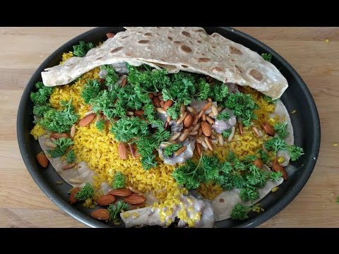 Mansaf -  منسف - Jordanian Mansaf Recipe - Lamb Recipe - National Dish - Mansaf Recipe