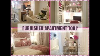 FURNISHED Glam  Full APARTMENT  Tour