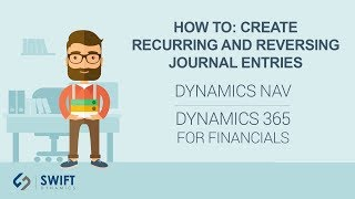 How To: Create Recurring and Reversing Journal Entries in Dynamics NAV