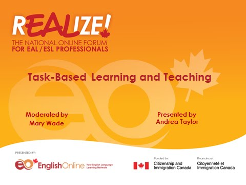 REALIZE 2015 Forum - Task- based Learning and Teaching