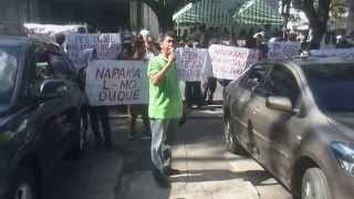 Rally In Front Of Bulacan Provincial Capitol Comelec Office, Malolos City