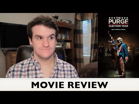 The Purge: Election Year - MOVIE REVIEW (Goodnight Blue Cheese?)
