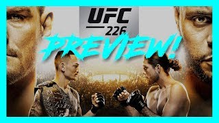 PREVIEW UFC 226 - Le retour de Francis Ngannou, Miocic vs. DC et Holloway vs. Ortega
