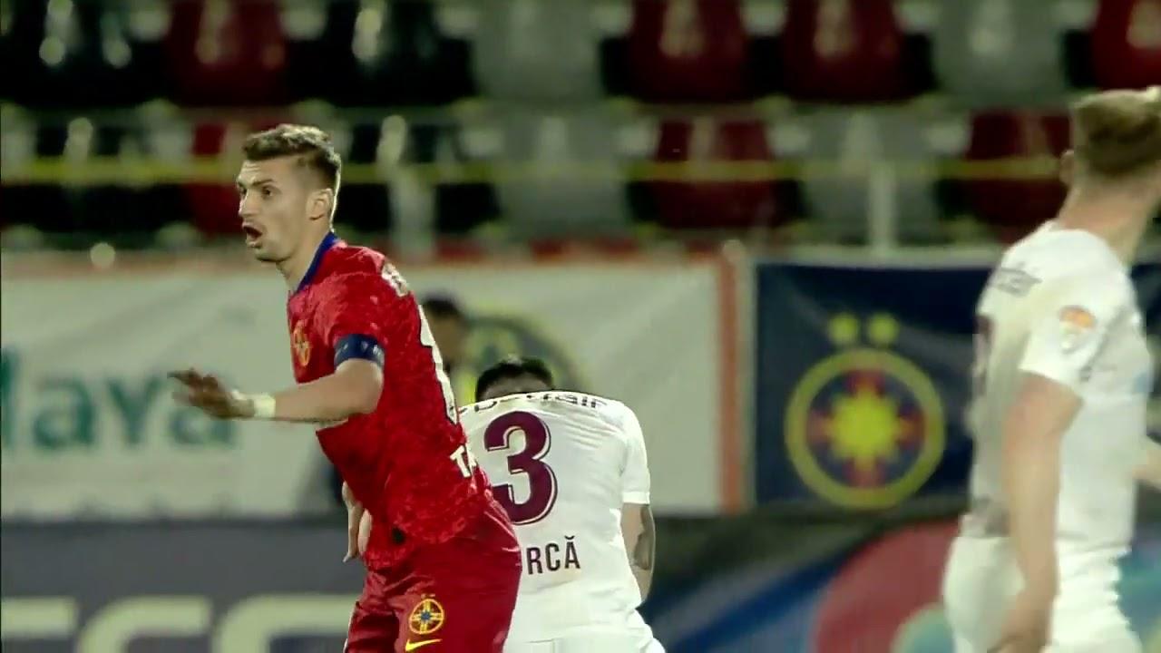 REZUMAT | FCSB - CFR Cluj 1-1 | Liga 1, play-off, 2020-2021