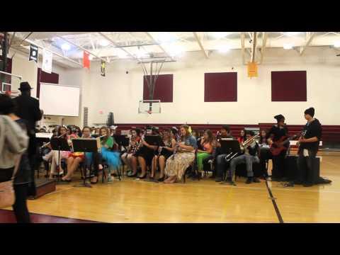 Turtle Mountain Community High School Halloween Concert 2014
