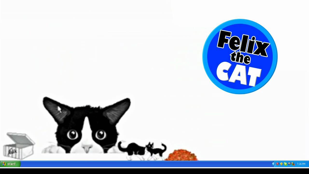 Felix The Cat Screenmate apps iOS Talking Felix