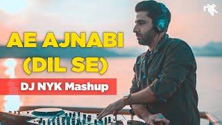 Gambar cover Ae Ajnabi (Dil Se) ft. Ashish Bhatt - DJ NYK Mashup   Taken from Bollywood Sunset Set @ Lake Pichola