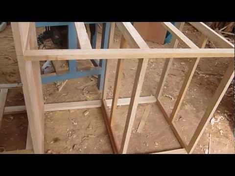 Construccion De Estructura De Madera Con Tornillos