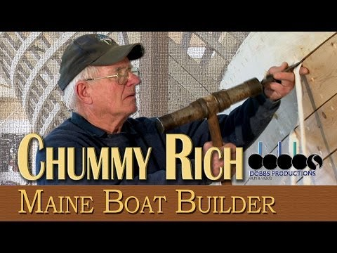 Chummy rich maine boat builder dobbs productions bar harbor maine