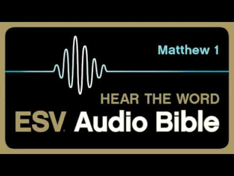 (ESV) Audio Bible - Matthew - Chapter 1
