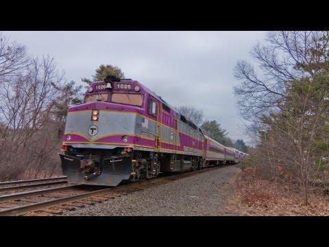 HD MBTA Commuter Rail at My Spot near Wellesley College