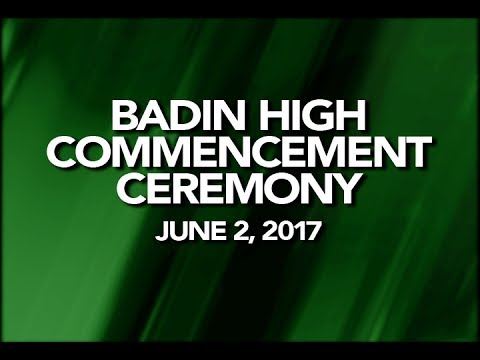 2017 Badin High School Commencement