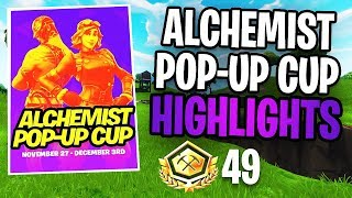 Alchemist Pop-Up Cup Highlights! - (Fortnite: Battle Royale)