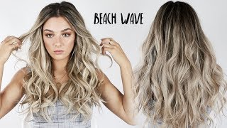 Aveda How-To | Curling Iron Beachy Waves Tutorial with Jessica Howell
