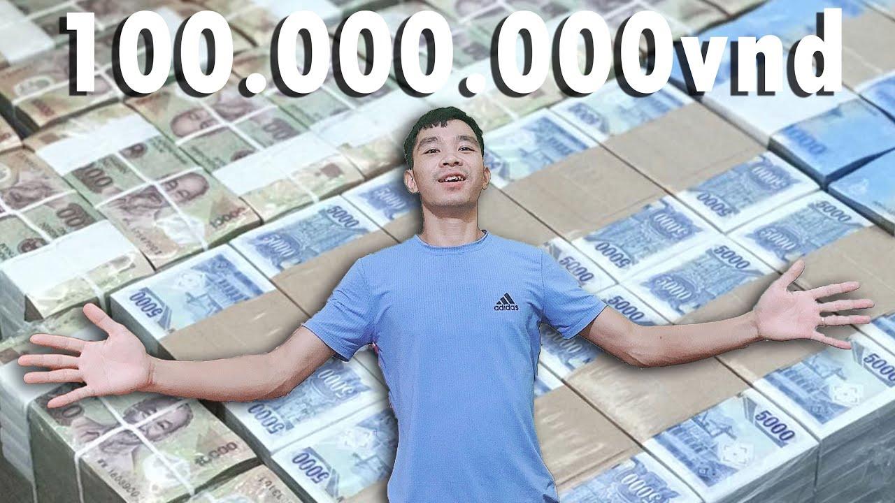 Tôi Tặng 100.000.000Vnd Cho Người Hâm Mộ  | I Donate 5000$ to Fans | Tập 1 | PHD Troll