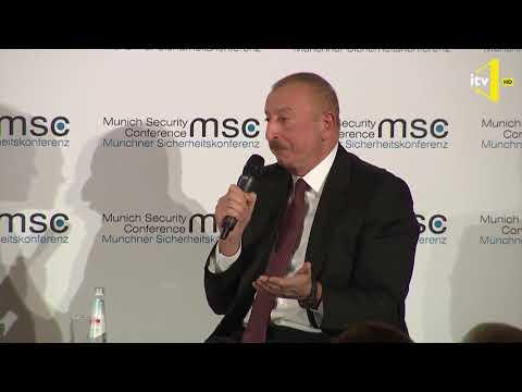 Prezident İlham Əliyevin Münhen Təhlükəsizlik Konfransında Nikol Paşinyanla debatı