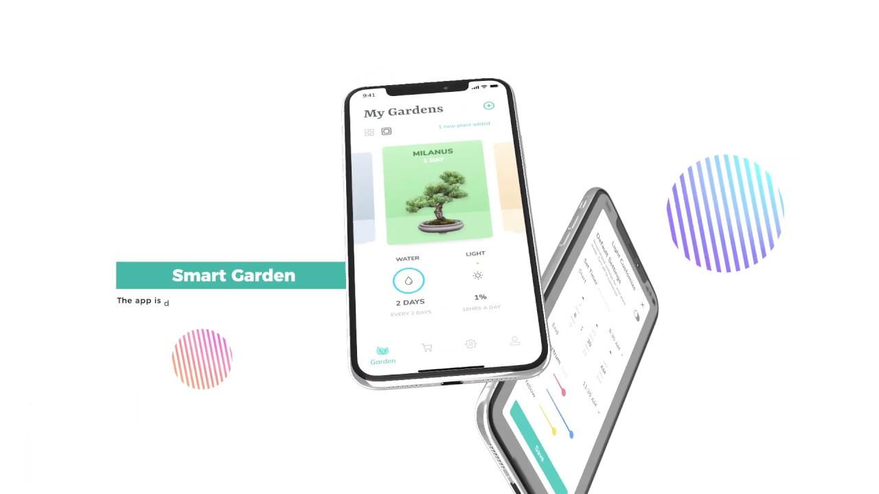 Egarden Smart Garden Management App Ui Kit Youtube