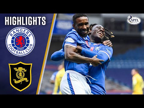 Rangers Livingston Goals And Highlights