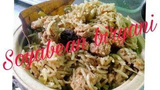 Soyabean biryani recipe|| सोयाबीन बिरयानी ||veg biryani || आसान अंदाज में ||