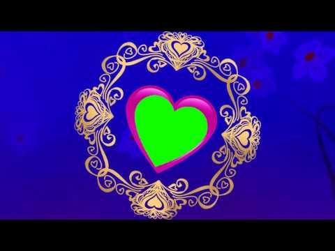 love-symbol-wedding-green-mat-video-downloads