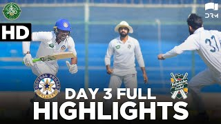 Full Highlights | Central Punjab vs Balochistan | DAY 3 | QeA Trophy 2020-21 | PCB | MC2T