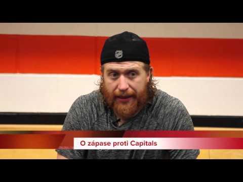 Jakub Voráček po zápasu proti Senators
