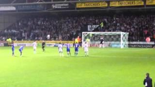 Yeovil Town v Leicester City [1-2] 1-2 James Hayter Penalty