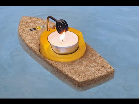 how-to-make-a-steam-boat-with-a-candle