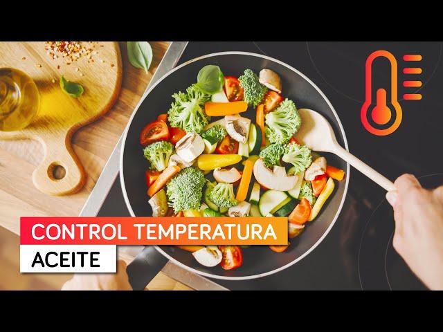Control de Temperatura del Aceite en tu placa de Inducción - Fritura más homogénea, perfecta y sana
