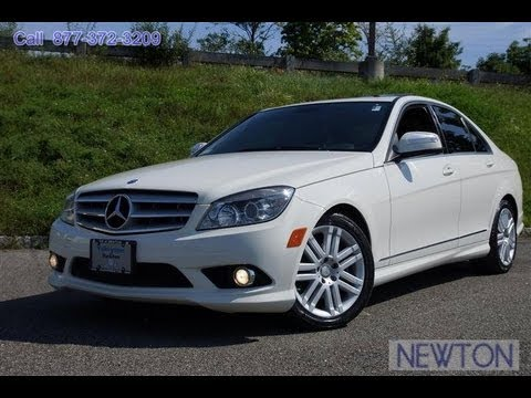 2008 mercedes benz c class c300 4matic sedan youtube. Black Bedroom Furniture Sets. Home Design Ideas