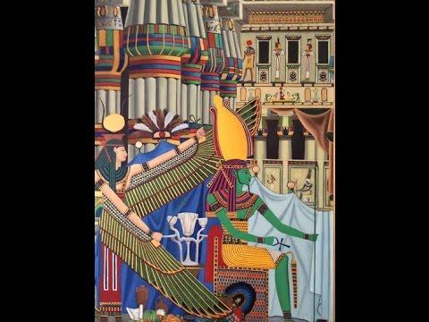 DER GÖTTER OSIRIS : TOTENKULT UND TOTENGERICHT. DIE UNDERWELT DAS ÄLTER ÄGYPTEN