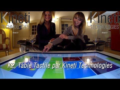 K2 Table Tactile Par Kineti Technologies Youtube