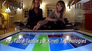 K2, Table Tactile par Kineti Technologies Thumbnail