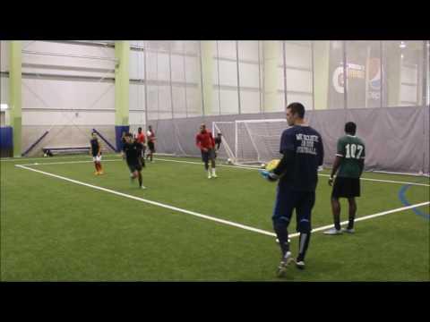 Soccer Goalkeeping Skills U17 TFC Keeper