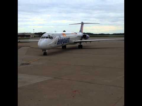 Allegiant Air Inaugural Flight to Myrtle Beach