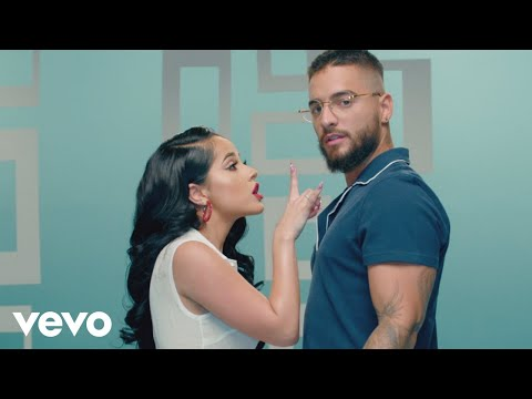 becky g maluma la respuesta official video