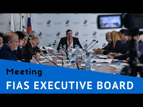 FIAS executive board meeting in Moscow 2016