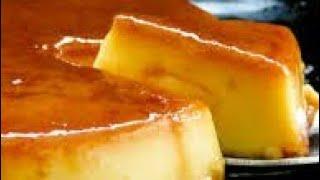 Easy caramel pudding  creme caramel vlog