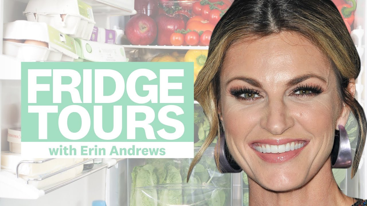 Erin Andrews Shares The 'Essential' Groceries She's Never Without | Fridge Tours | Women's Health