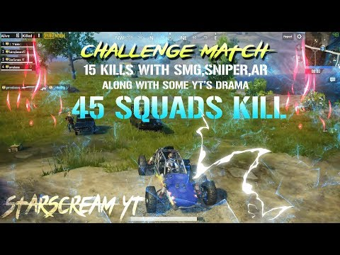 45 KILLS CHALLENGE WITH MASSIVE FIGHT || FT. GAREEBOOO AND POTATO FIGHT || PUBG MOBILE