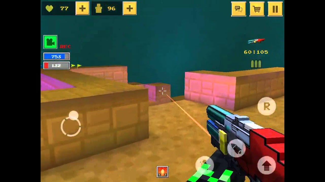 Pixel Style Gun Shooter Game] Blockforce