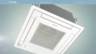 Daikin FFQ. Кондиционер кассетного типа. Решение для магазинов и офисов(, 2017-04-09T10:52:31.000Z)