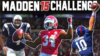 Madden 15 NFL Challenge - Victory/Ending Sendoff Montage Thingy!
