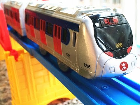 MTR SP1900/1950 EMU-Kowloon-Canton Railway SP1900 form train【Takara TOMY Plarail】00016 en